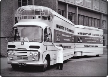 Our mobile cinema in it's 1967 government livery