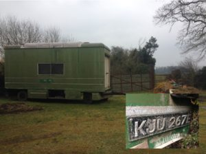 Trailer and Registration plate