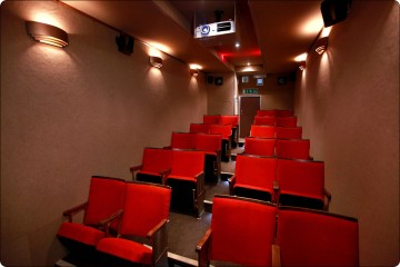 Inside the luxury theatre space