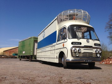 The Vintage Mobile Cinema and Trailer
